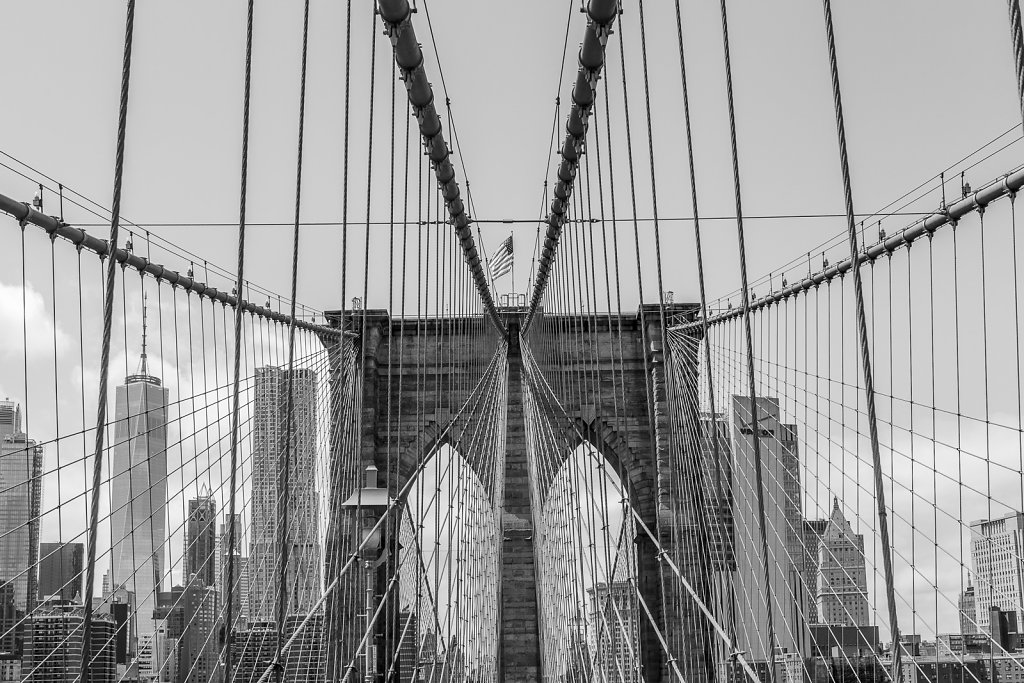 Brooklyn Bridge Details
